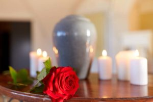 A memorial service is often carried out for cremations, and can be planned any time.