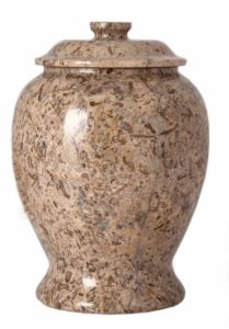 Fossil Marble Urn (+$180.00)