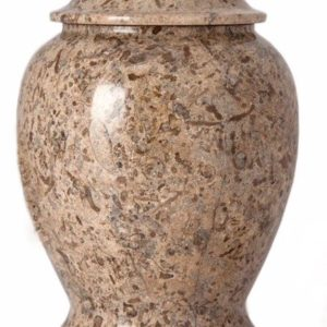 Fossil Marble Urn