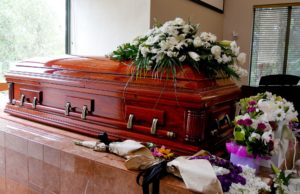 Funeral visitation etiquette covers many areas, including flowers to adorn the casket, cards, and knowing what to say to loved ones.